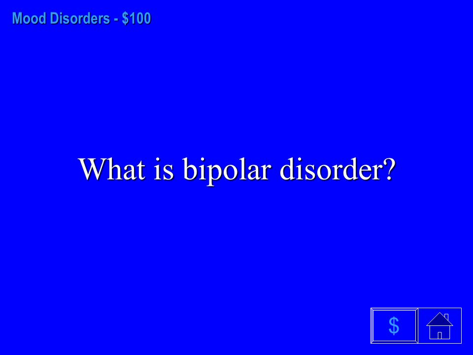 Anxiety Disorders $500 What is obsessive- compulsive disorder? $