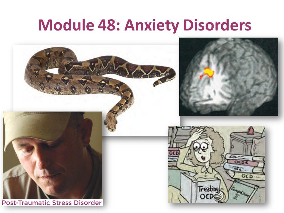 Module 48: Anxiety Disorders