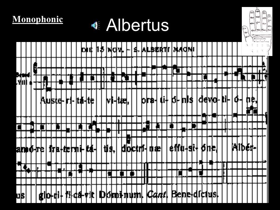 Albertus Monophonic