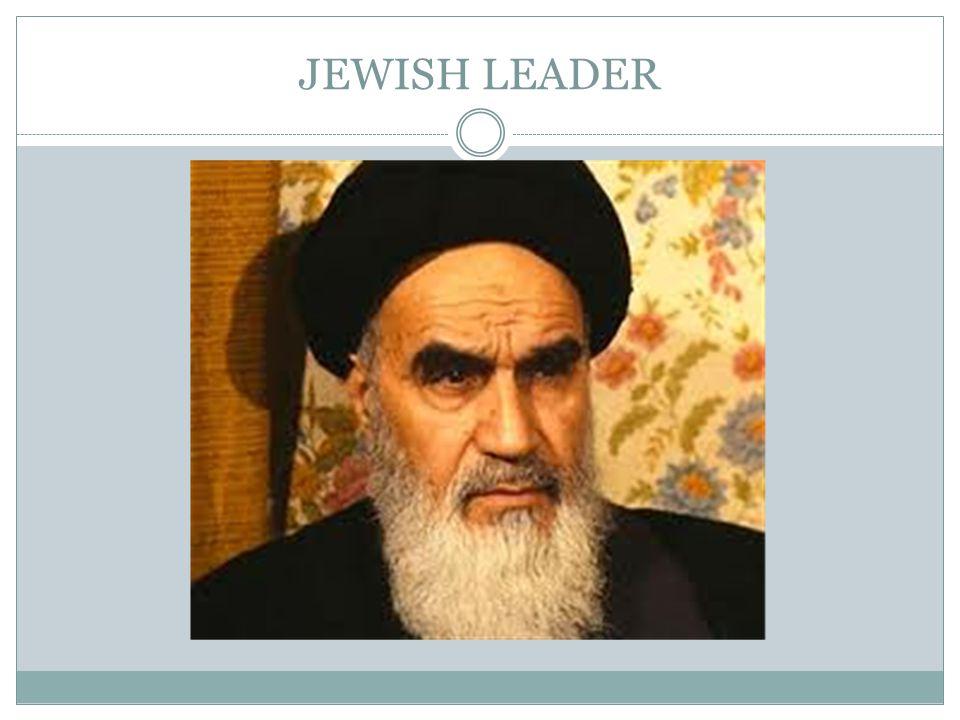 JEWISH LEADER