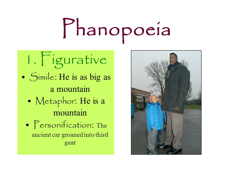 Phanopoeia It's nearly impossible to write without imagery.