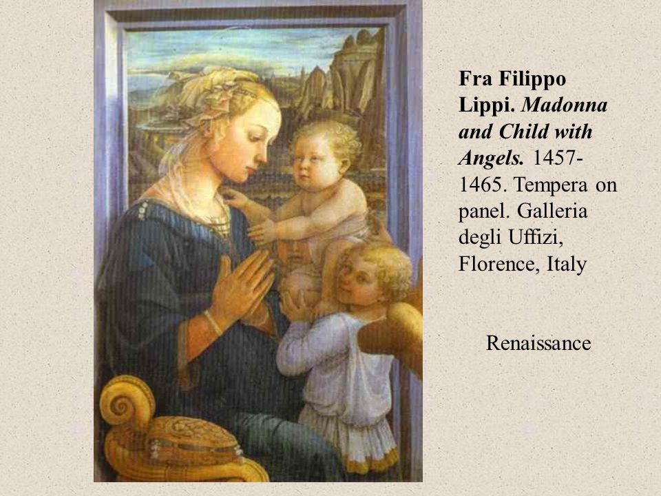 Fra Filippo Lippi. Madonna and Child with Angels.