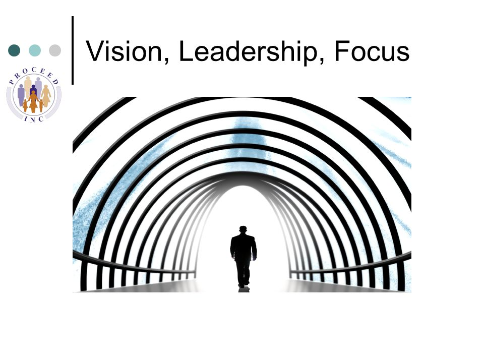 Vision, Leadership, Focus