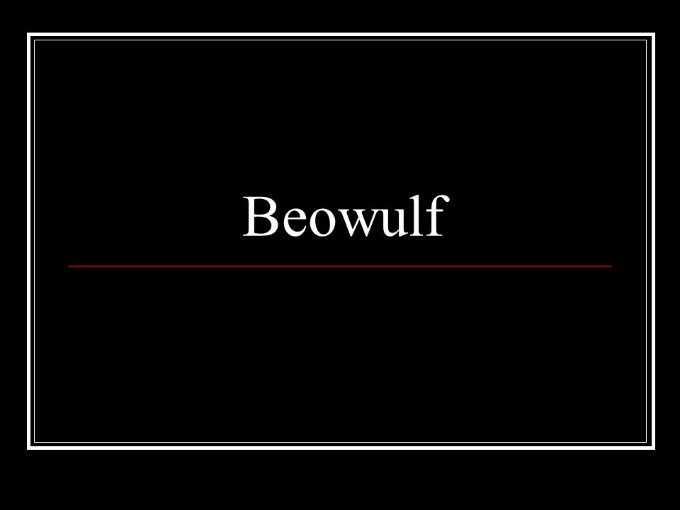 Part II - Study Guide Hrothgar responds to Beowulf's account of the battle with a speech (lines 1160-1227).