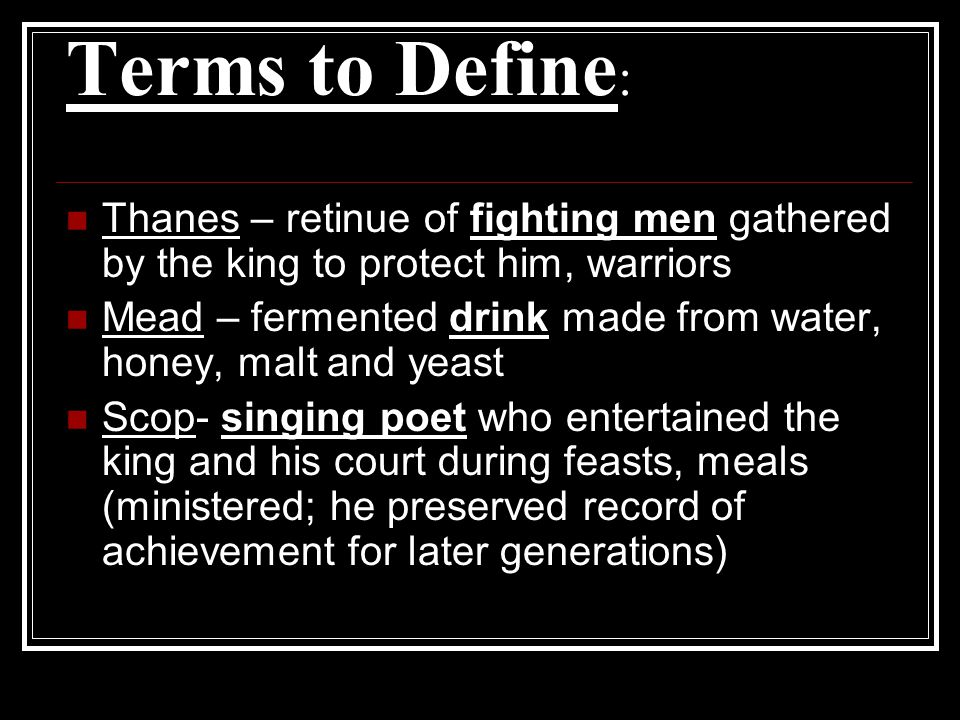 Part II - Study Guide Hrothgar refers to a Fiend in line 1194, a fiend that threatens to be more powerful even than Grendel.