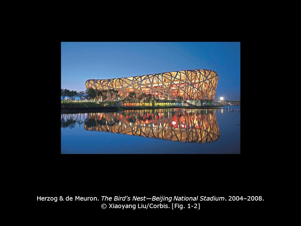 Herzog & de Meuron.The Bird's Nest—Beijing National Stadium.