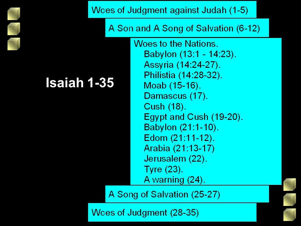 Isaiah 1-35