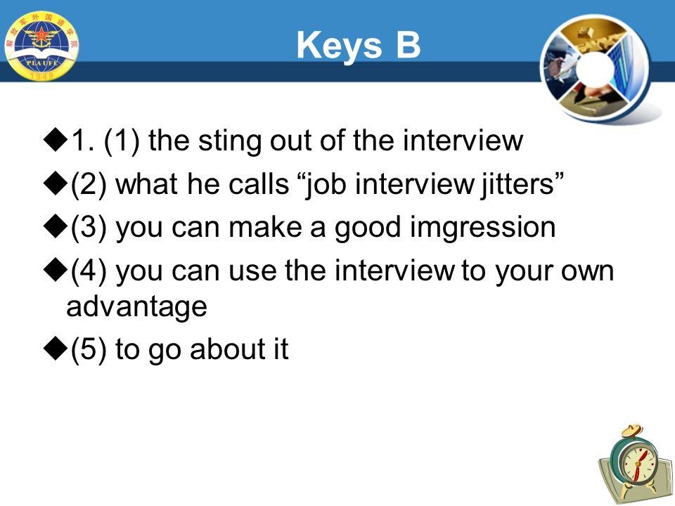 Keys B  1.
