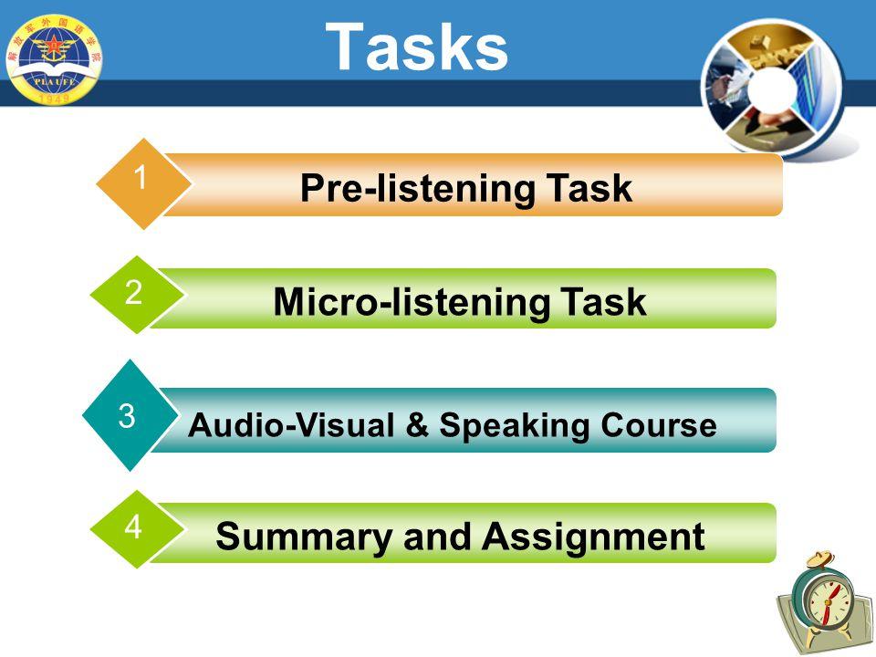 Task I Global Listening  1. D  2. B  3. B  4. B  5. D  6.D  7.A  8. A