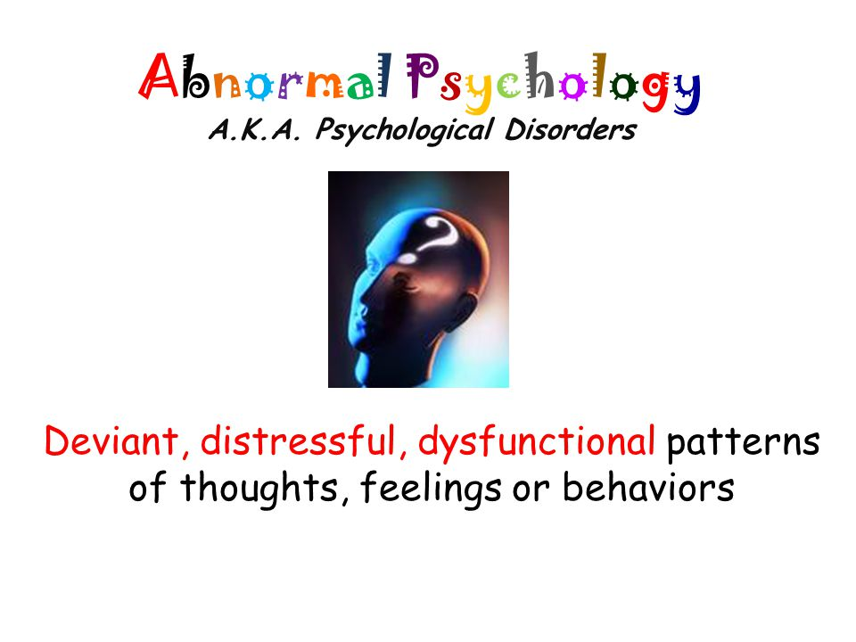 Causes of Anxiety Disorders Psychoanalytic Perspective – Produced by repressed memories, hidden wishes, unconscious conflicts Example: Afraid to go out on dates because sexually abused by father