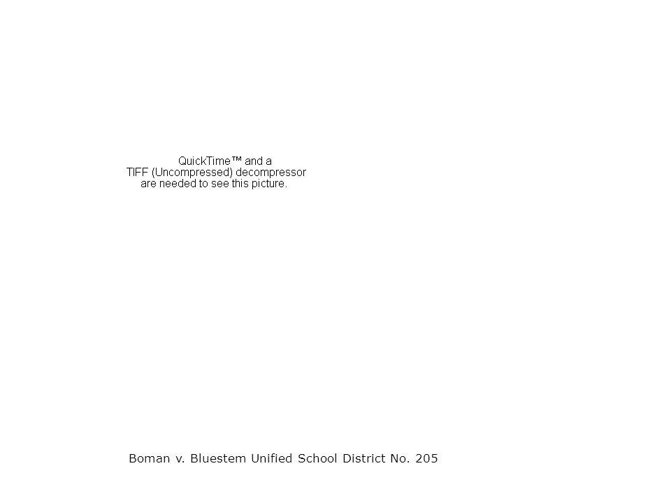 Boman v. Bluestem Unified School District No. 205