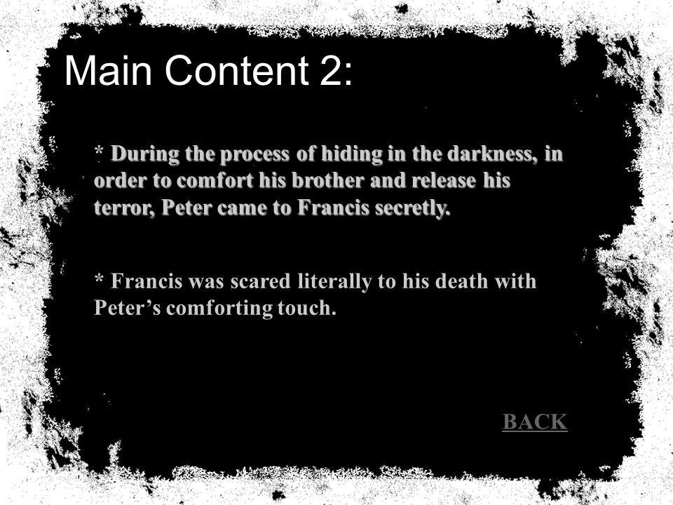Analysis I.ContentContent II.Method of NarratingMethod of Narrating