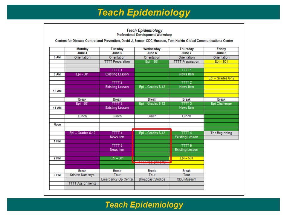 152 Teach Epidemiology