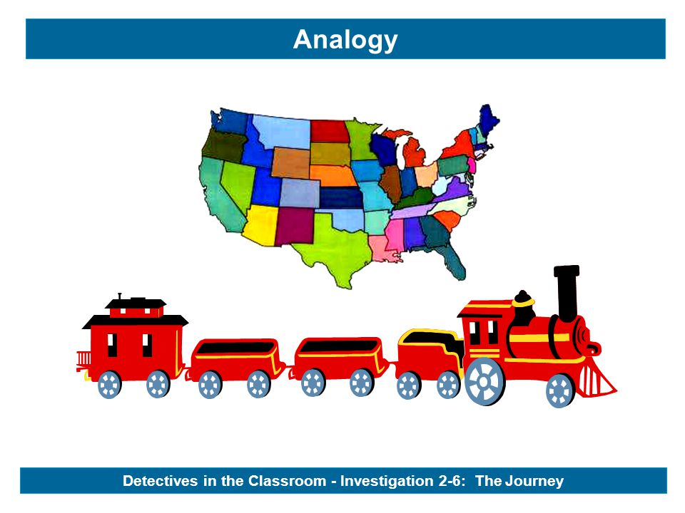 Analogy Detectives in the Classroom - Investigation 2-6: The Journey