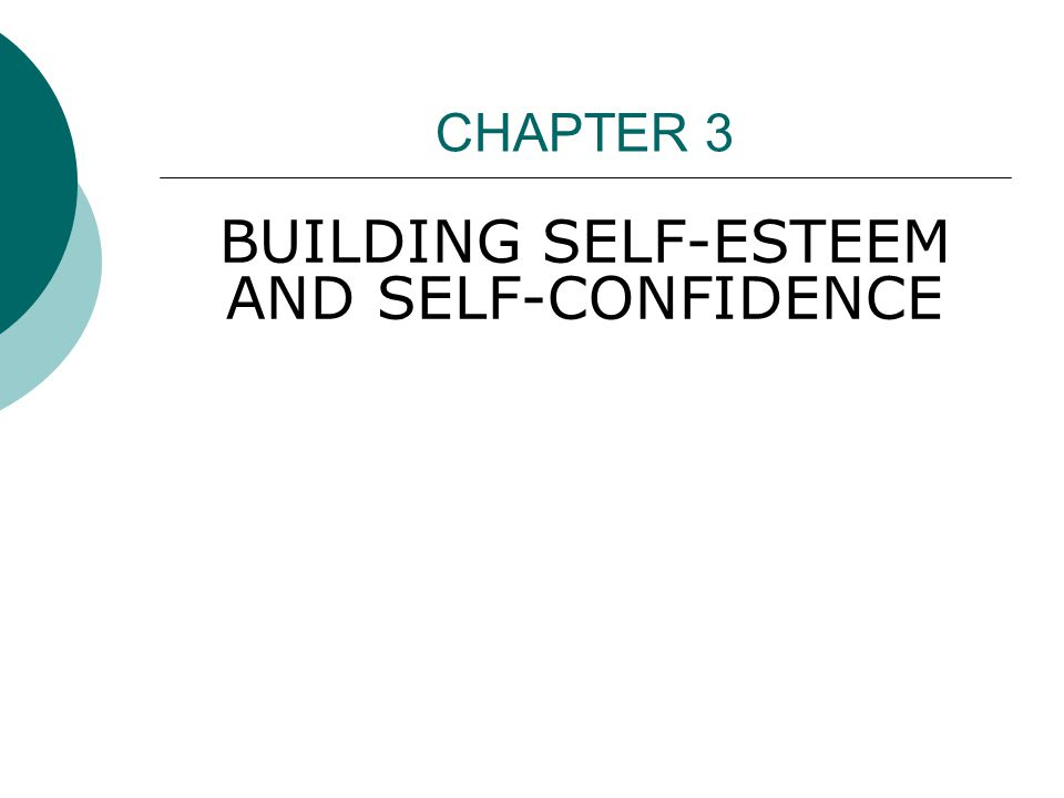 THE IMPORTANCE OF SELF- CONFIDENCE AND SELF-EFFICACY  Self-efficacy is confidence in your ability to carry out a specific task.