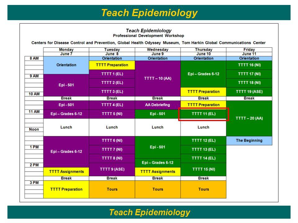 174 Teach Epidemiology