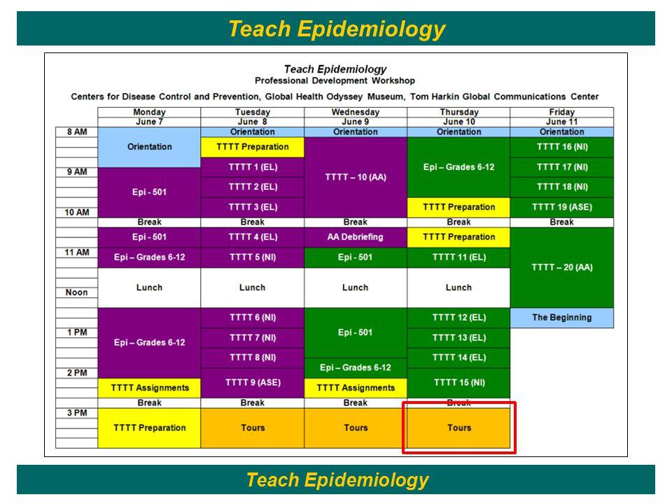 203 Teach Epidemiology