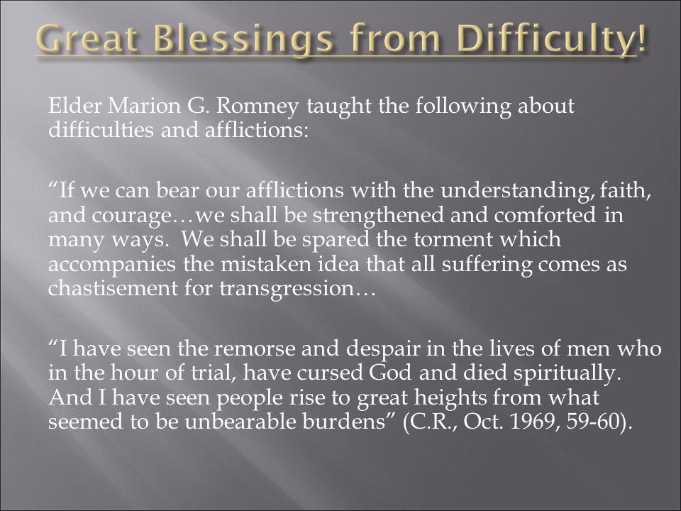 Elder Marion G.
