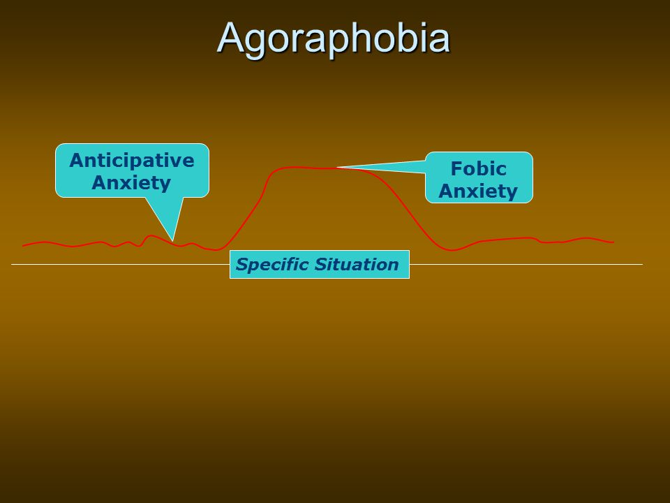 Agoraphobia Specific Situation Fobic Anxiety Anticipative Anxiety