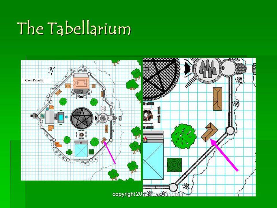 The Tabellarium copyright 2013 Kerr Cuhulain