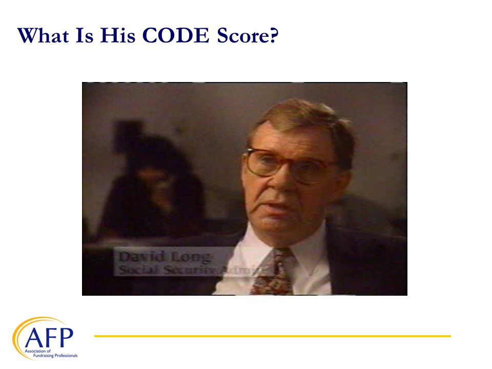 What Is His CODE Score