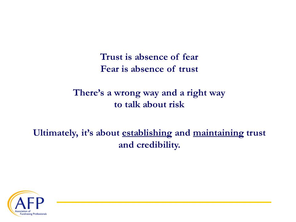 The Wrong Way To Talk Risk