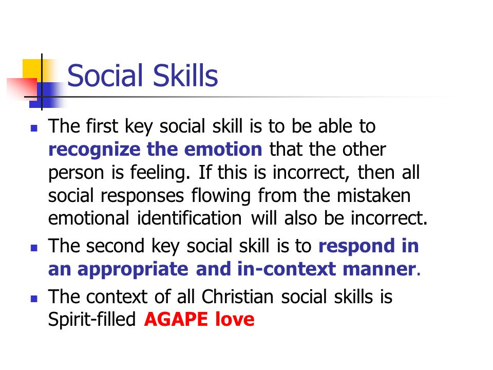 Biblical EQ www.aibi.ph/beq/ © Copyright, John Edmiston 2001 www.aibi.ph/beq/ A Christian Handbook For Emotional Transformation Part 10 – Social Skills: Emotional Recognition and Expression, Living In Love