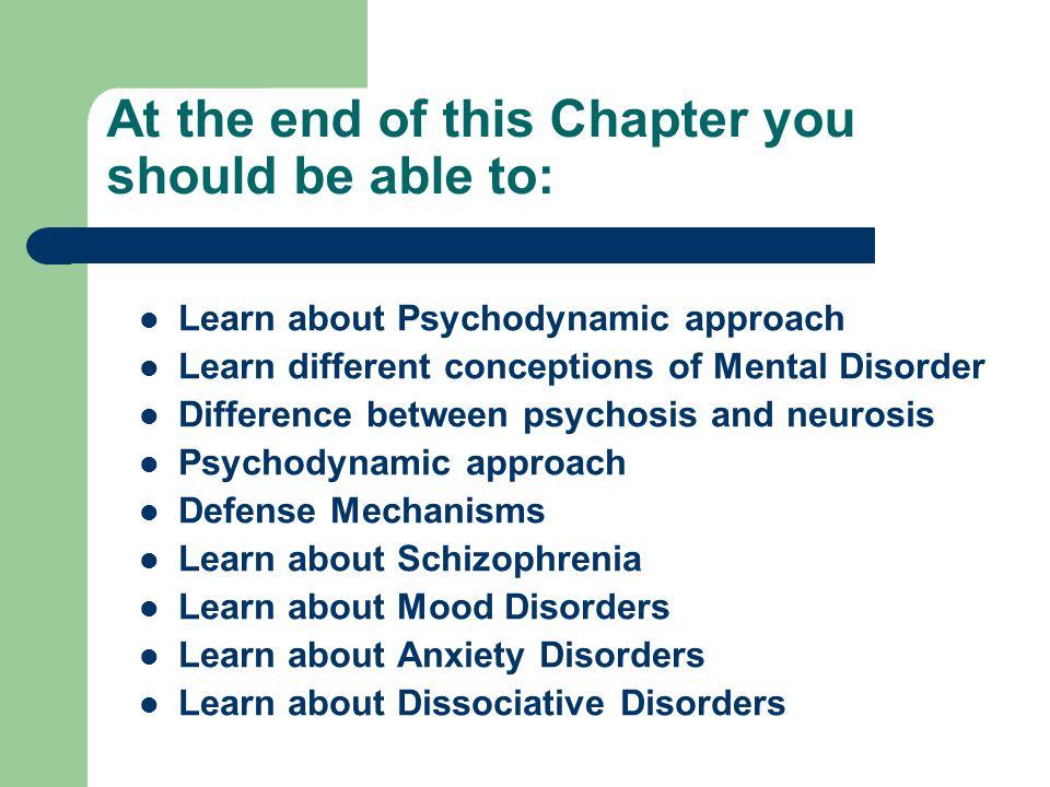 History of Mental Illnesses