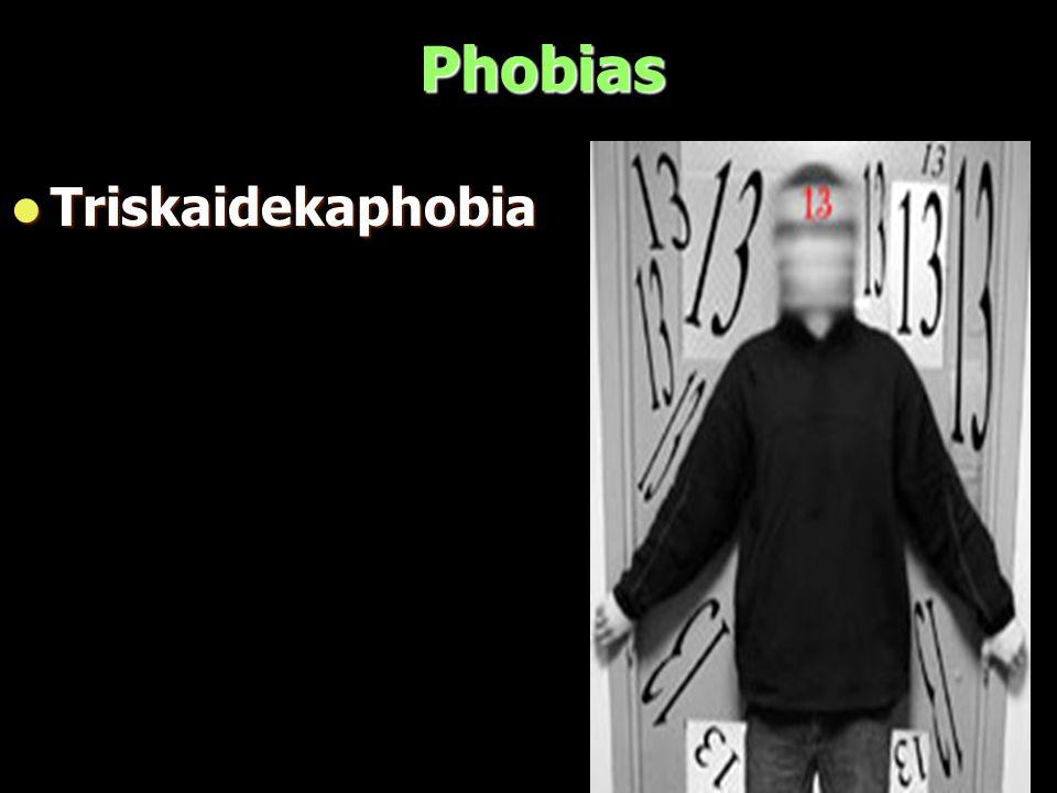 Phobias Triskaidekaphobia Triskaidekaphobia
