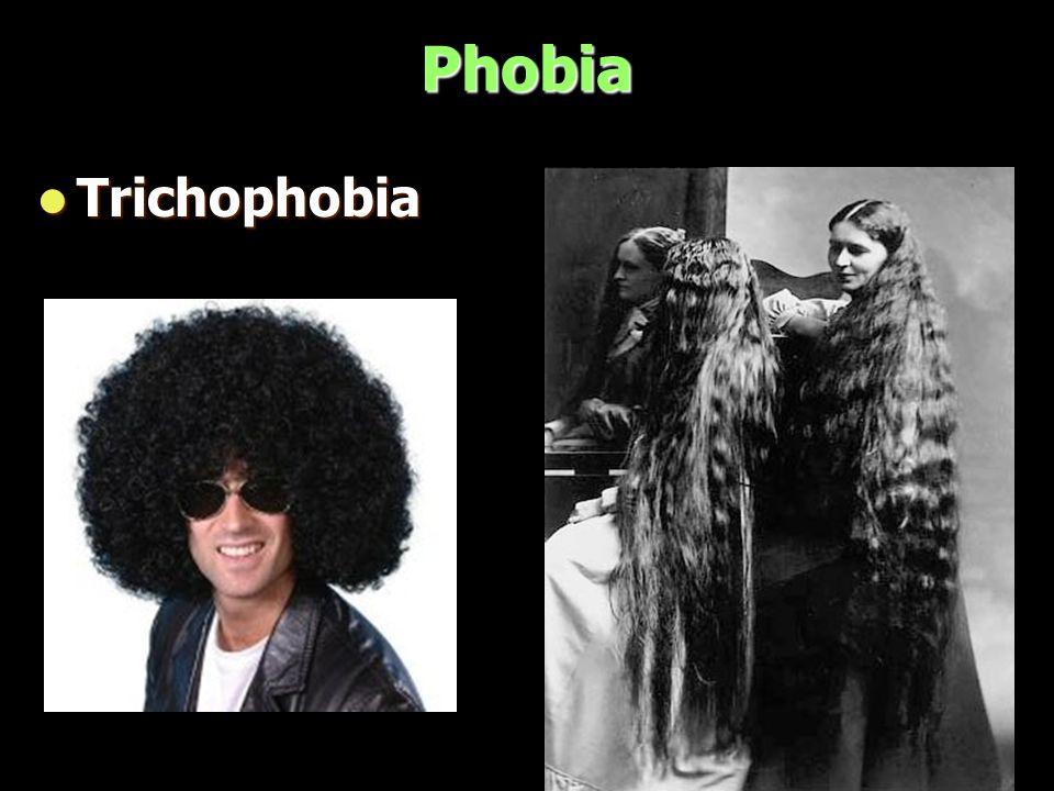 Phobia Trichophobia Trichophobia