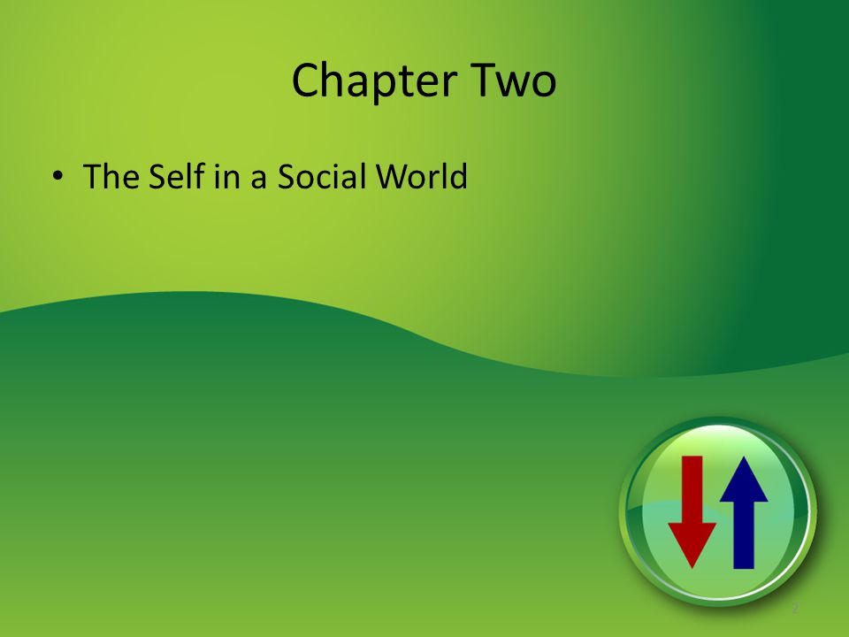 Chapter Two The Self in a Social World 2