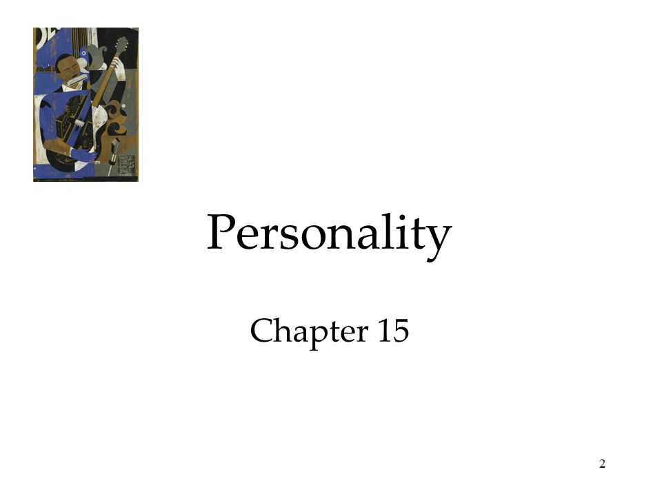 2 Personality Chapter 15