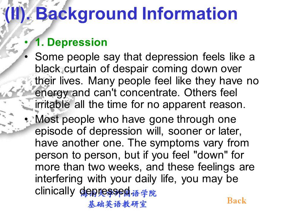 (II).Background Information 1.