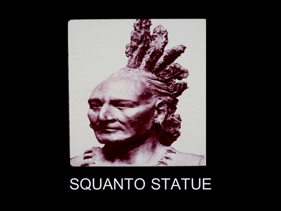 SQUANTO STATUE