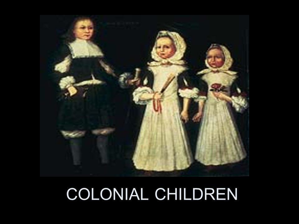 COLONIAL CHILDREN