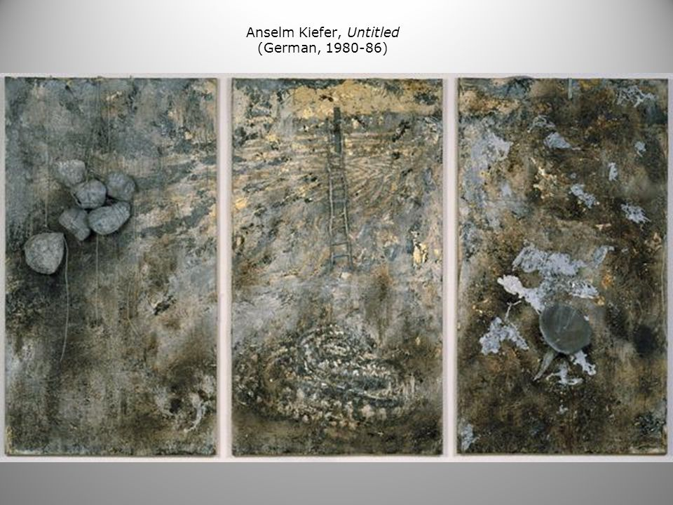 Anselm Kiefer, Untitled (German, 1980-86)
