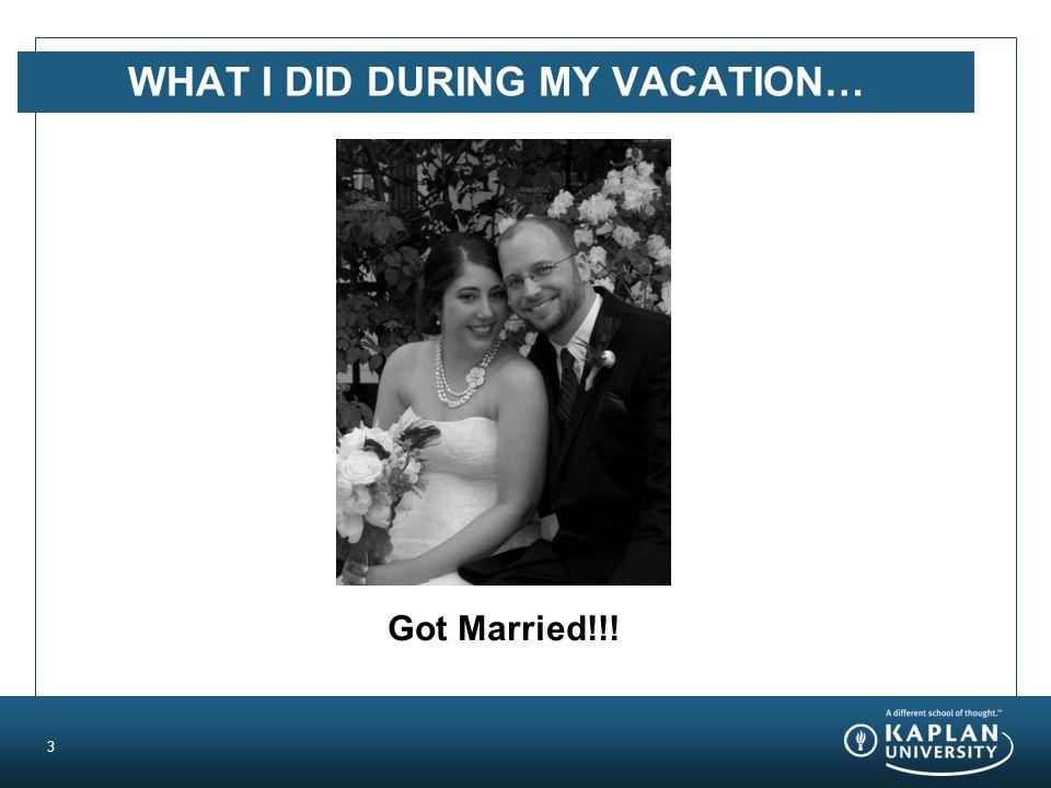 3 Got Married!!!