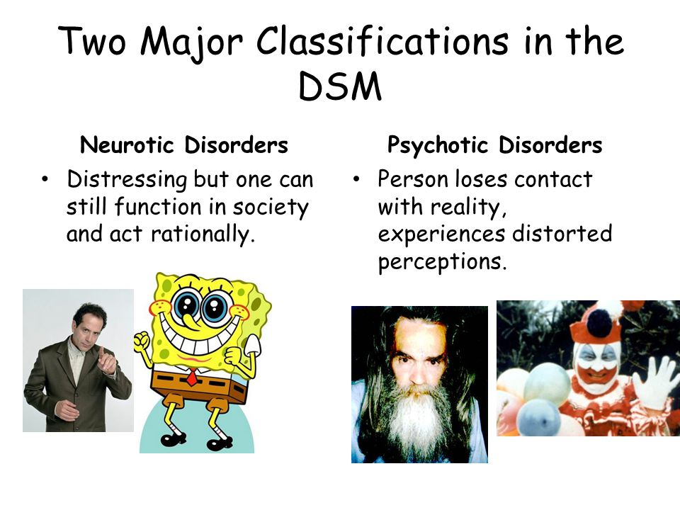 2.Paranoid Schizophrenia Preoccupation with delusions or hallucinations.