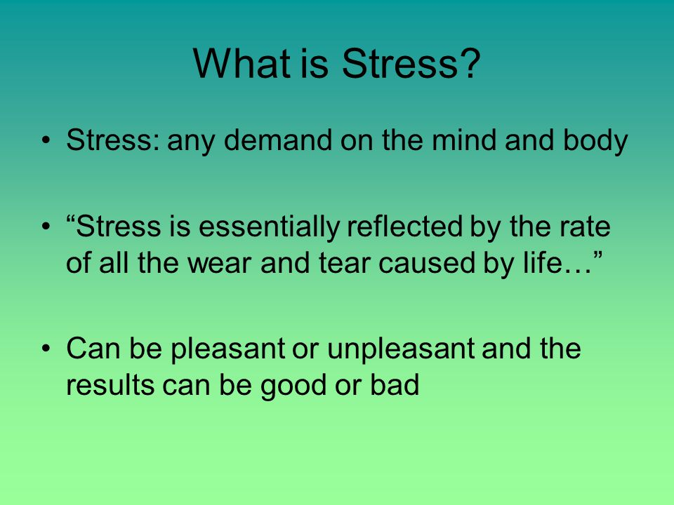 Managing Your Stress! SIUe Counseling Services 650-2197 www.siue.edu/counseling