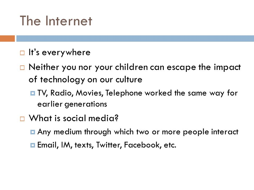 Social Media and Tasks of Teen  Independence  Mastery  Identity  Understanding consequences  Self-regulation