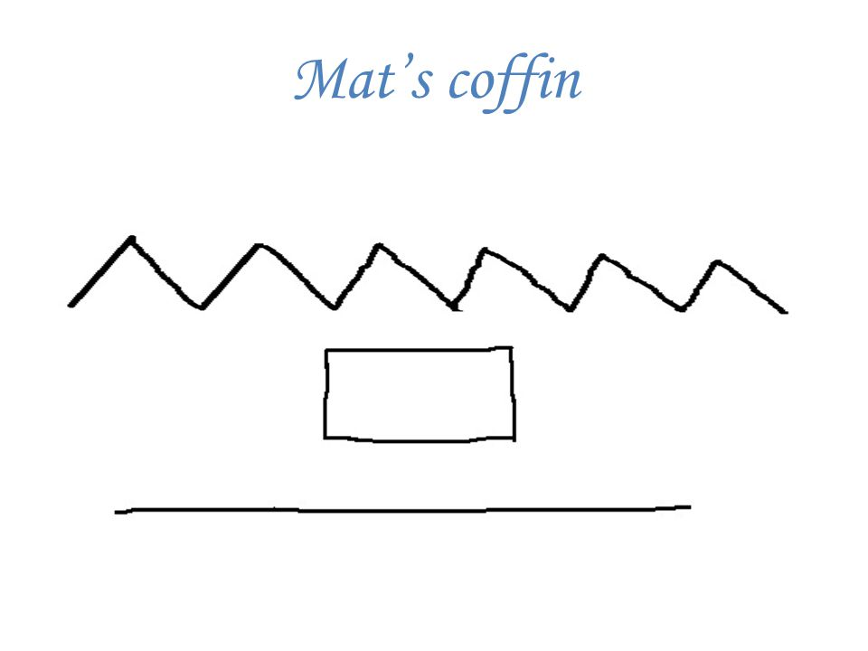 Mat's coffin