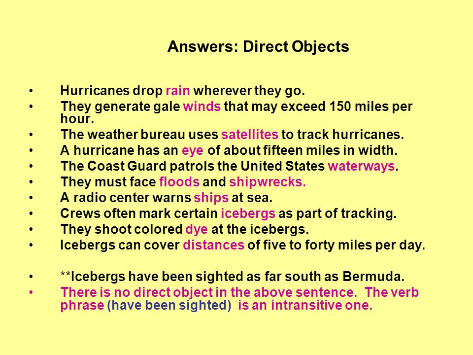 Hurricanes drop rain wherever they go. They generate gale winds that may exceed 150 miles per hour. The weather bureau uses satellites to track hurric