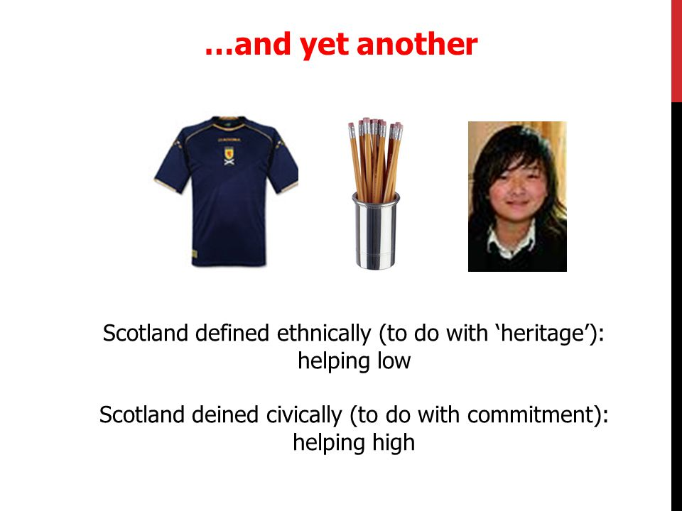 We see diversity as a strength, not a weakness of Scotland and our ambition is to see the cause of Scotland argued with English, French, Irish, Indian, Pakistani, Chinese and every other accent in the rich tapestry of what we should be proud to call, in the words of Willie McIlvanney 'the mongrel nation' of Scotland Explicit Definitions
