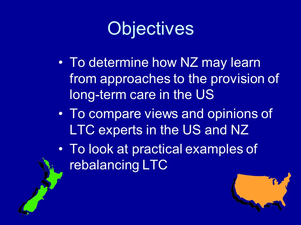 Methodology - Survey Initial Survey Design Expert Panels Cognitive Testing Web based survey – US base modified for New Zealand Sample 3000 in US Sample 300 in New Zealand