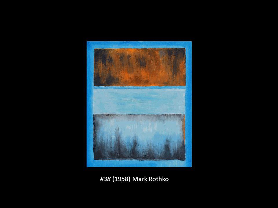 #38 (1958) Mark Rothko