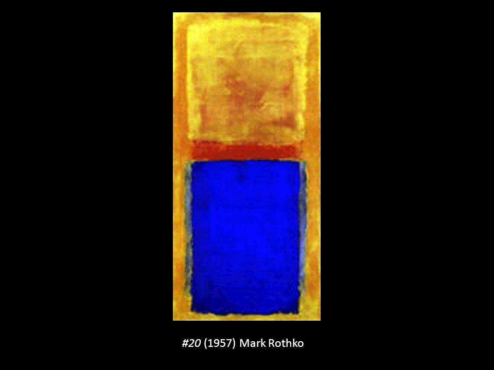 #20 (1957) Mark Rothko