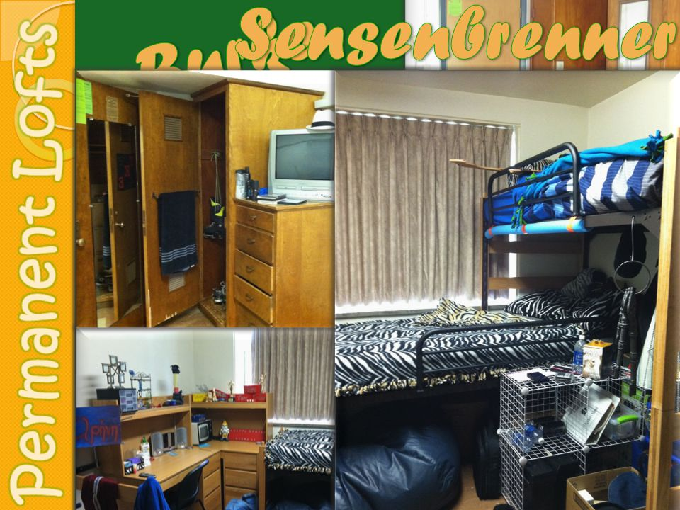 Housing Agreement must be signed by all students before moving into a residence hall.