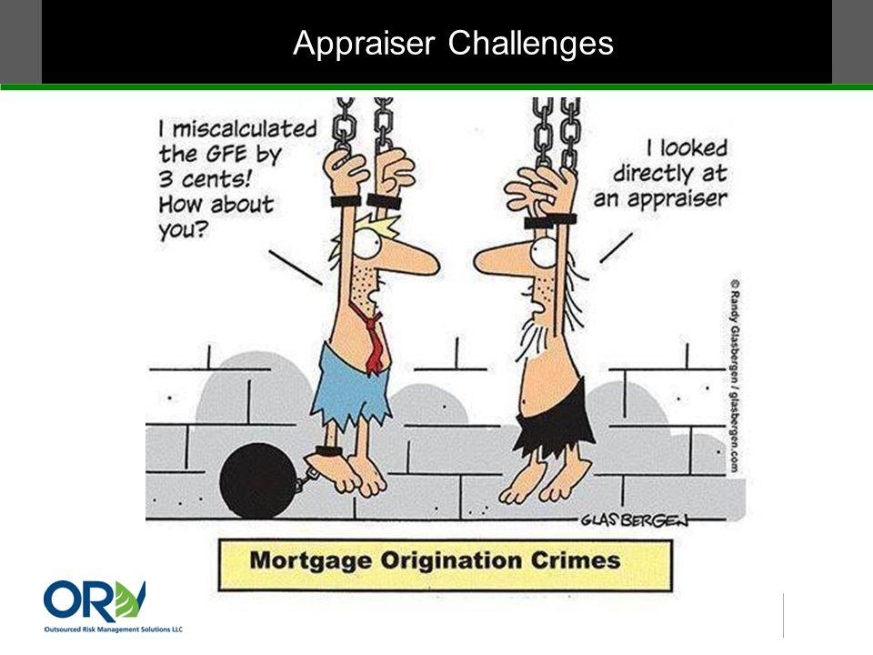 Appraiser Challenges