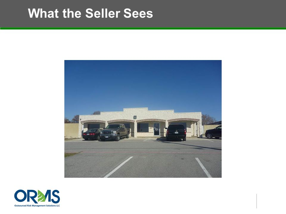 What the Seller Sees