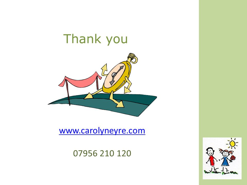 Thank you www.carolyneyre.com 07956 210 120